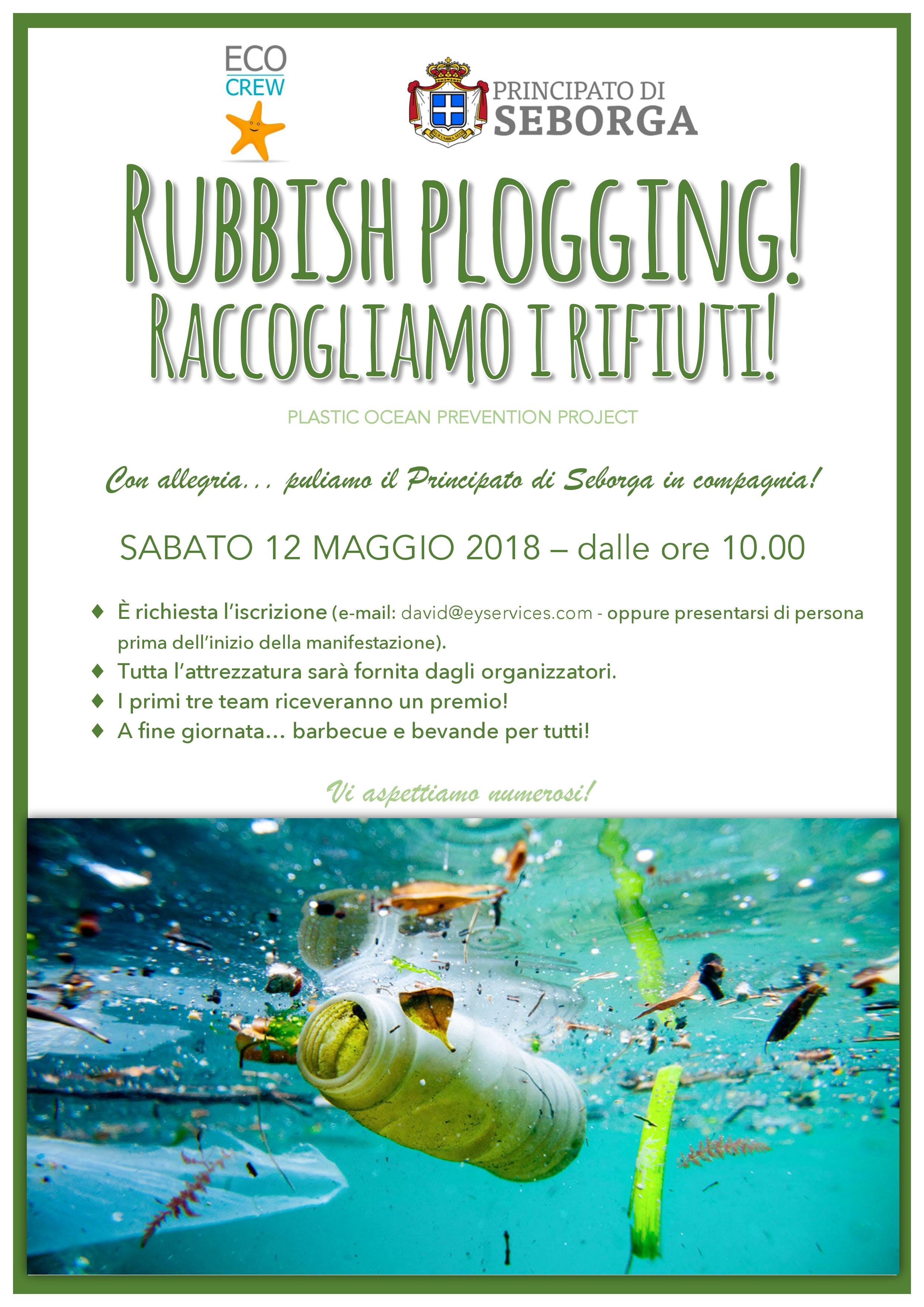 Rubbish plogging 2018